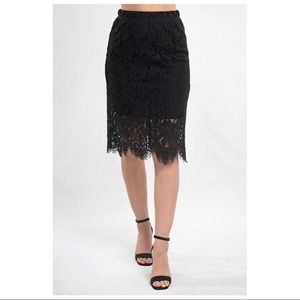 DISCOUNTED Rebecca Lace Skirt